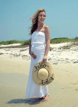 Amanda Lynch Elliott baby bump