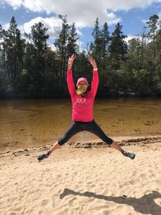 Kristen Marks Blackwater 10 Miler 2019