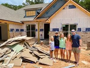 Lauren house building