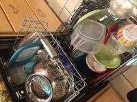 This is how my husband loads the dishwasher
