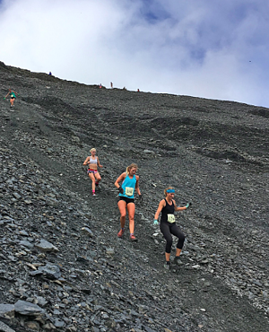 Seward Mount Marathon race