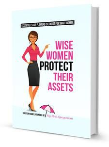 Wise Women Protect their Assets book by My Pink Lawyer®