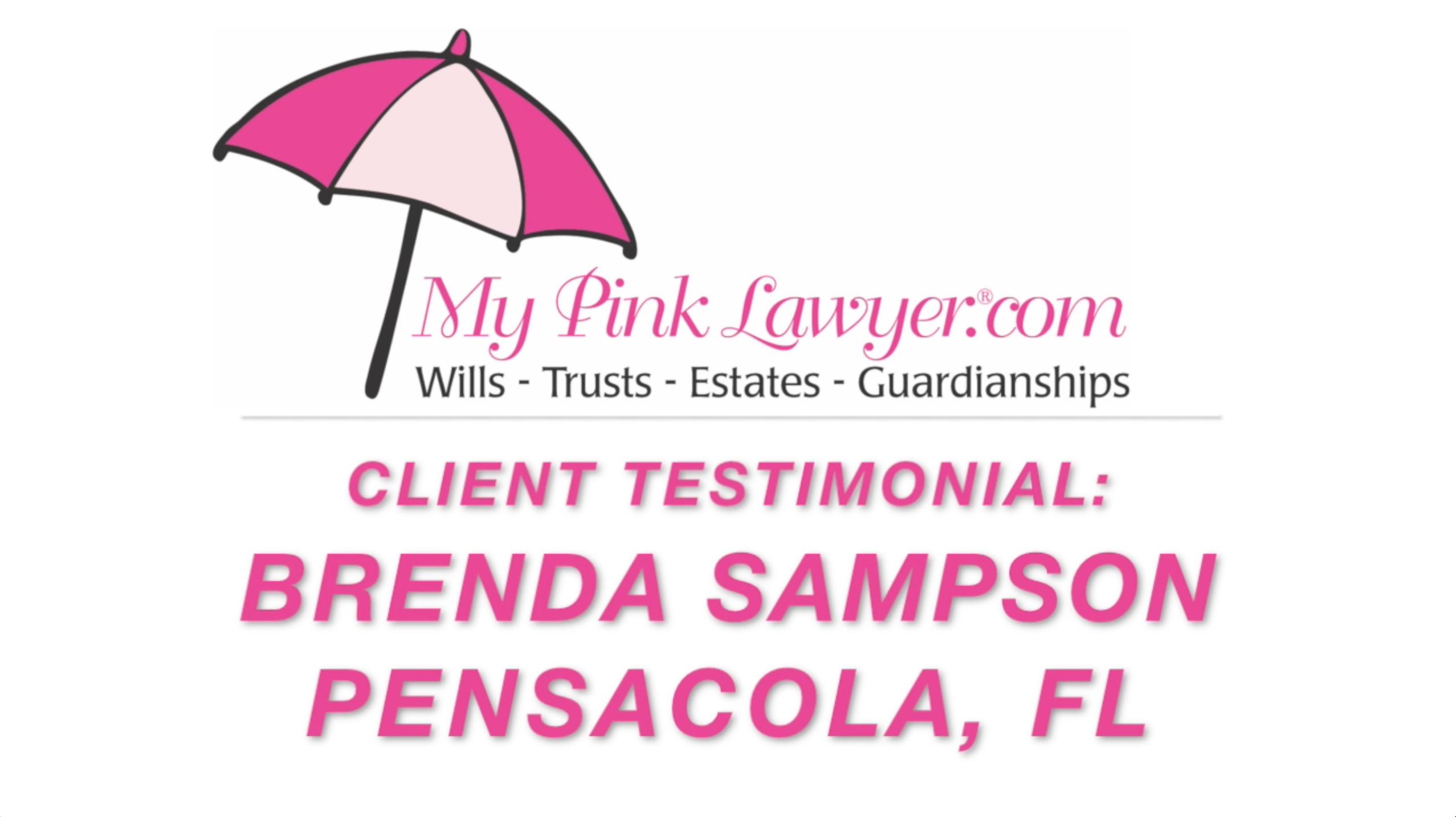 Brenda Sampson, Pensacola