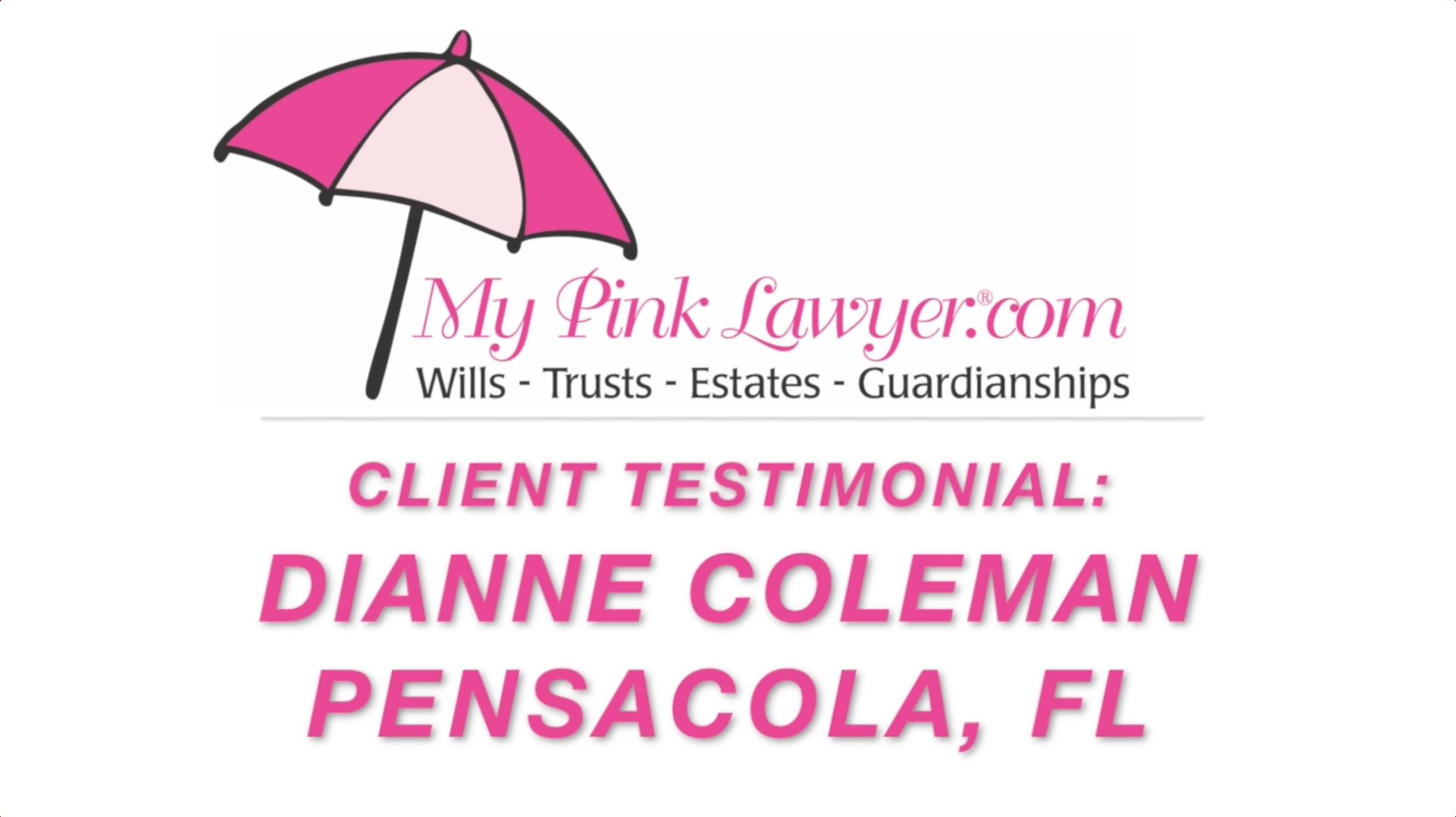 Dianne Coleman, Pensacola