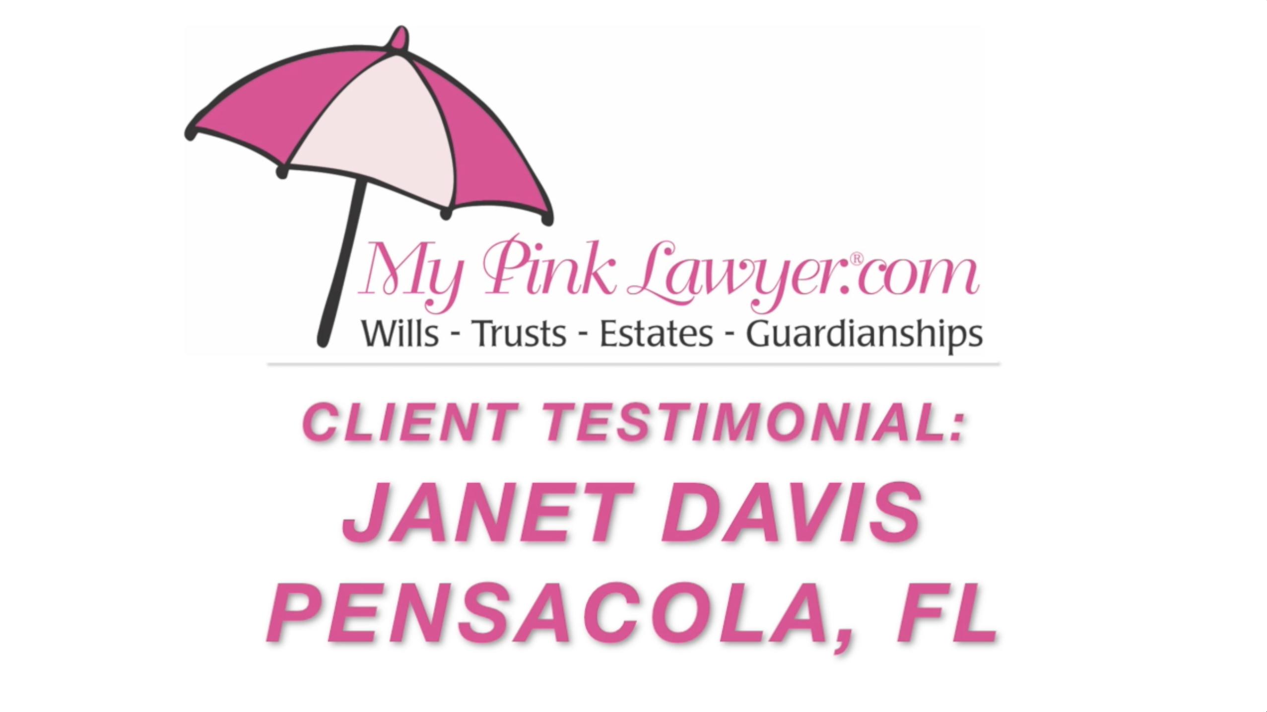 Janet Davis, Pensacola