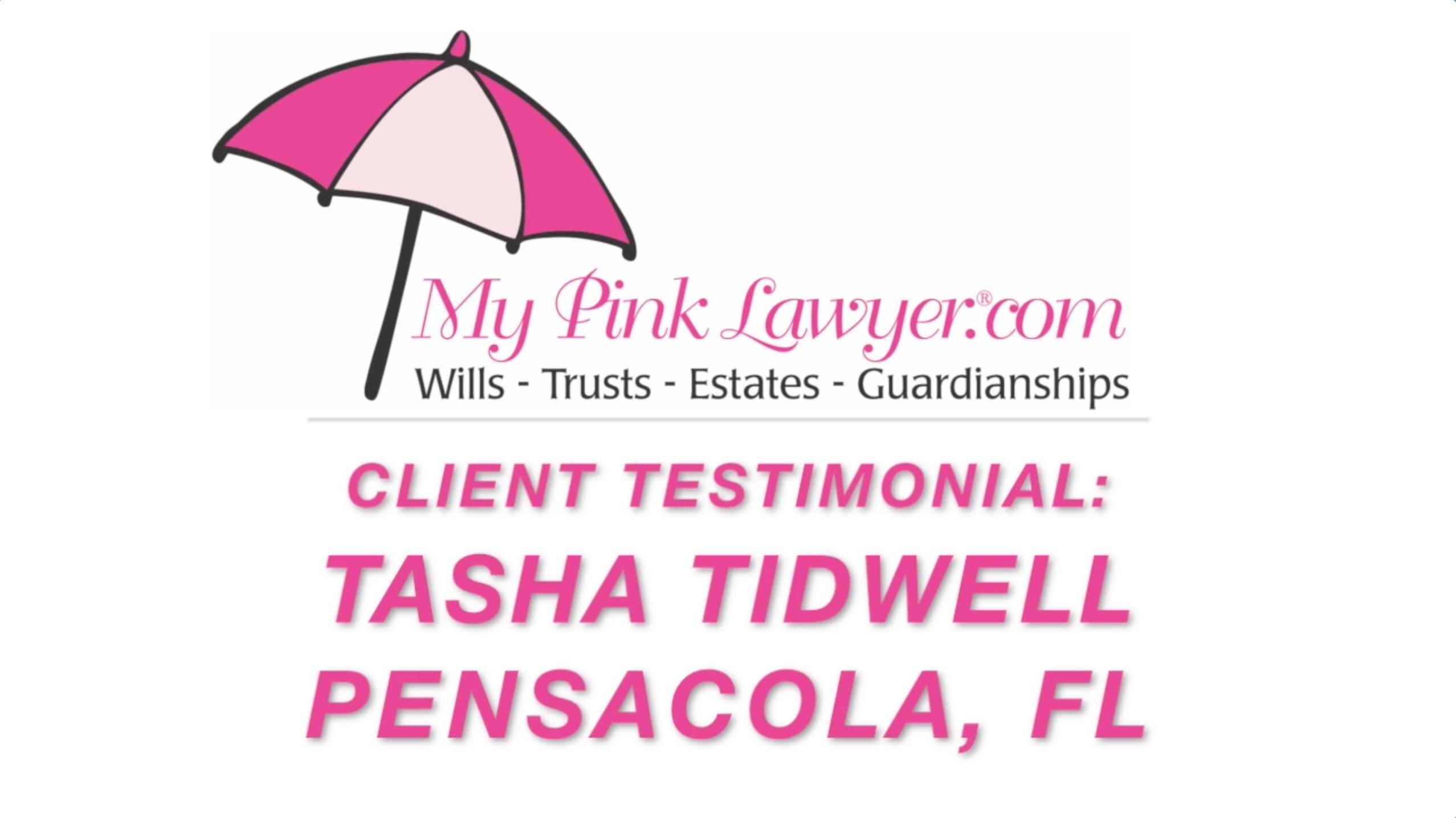 Tasha Tidwell, Pensacola